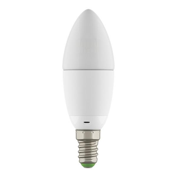 931504*** Лампа LED 220V C35 E14 6W=60W 360G WH 4200-4500K 20000H DIMM (в комплекте)