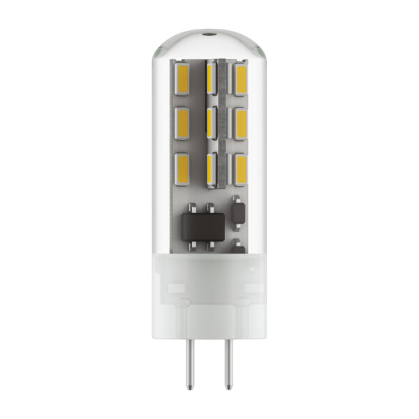 932704*** Лампа LED 220V JC G4 1.5W=15W 80LM 360G 4000K 20000H (в комплекте)