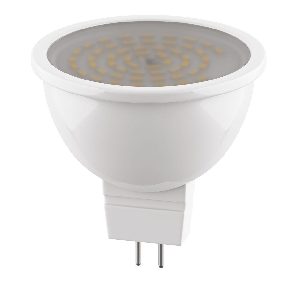940214 ЛАМПА LED 220V MR16 G5.3 6.5W=60W 325LM 120G  FR 4000K 20000H (в комплекте)