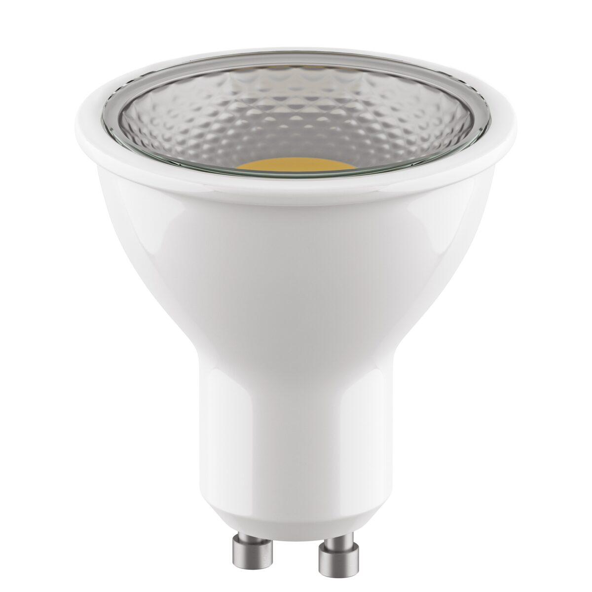 940282 Лампа LED 220V HP16 GU10 7W=60W 350LM 55G CL 3000K 20000H (в комплекте)