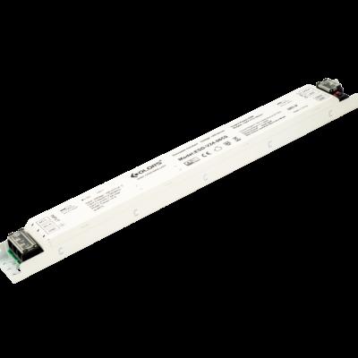 Блок питания для светодиодной ленты LUX встраиваемый в профиль, диммируемый, 24В, 65Вт, IP40