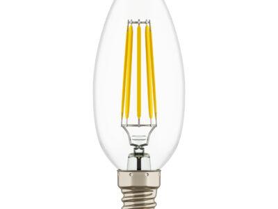 940562 Лампа LED 220V  C35 E14  4W=40W 350LM 360G CL 3000K 20000H (в комплекте)