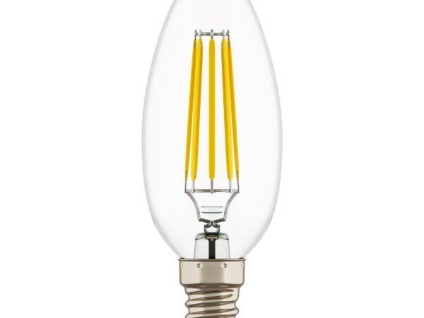 940564 Лампа LED 220V C35 E14 4W=40W 350LM 360G CL 4000K 20000H (в комплекте)