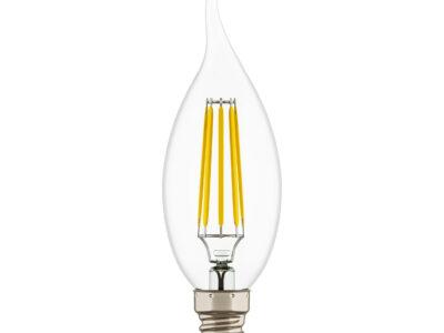 940664 Лампа LED 220V  CA35 E14  4W=40W 350LM 360G CL 4000K 20000H (в комплекте)