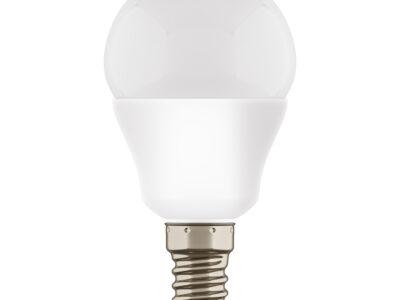 940802 ЛАМПА LED 220V G45 E14 7W=65W 350LM 180G  FR 3000K 20000H (в комплекте)