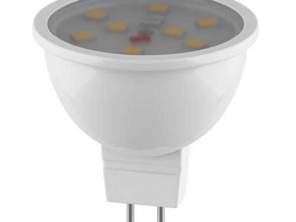 940902 ЛАМПА LED 220V MR11 G5.3 3W=35W 240LM 120G 3000K  20000H (в комплекте)