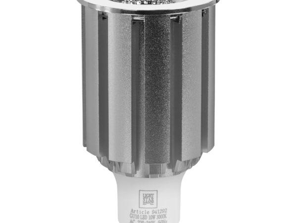 941294 ЛАМПА LED 220V HP16 GU10 10W=100W 610LM 45G COB 4000K 20000H (в комплекте)