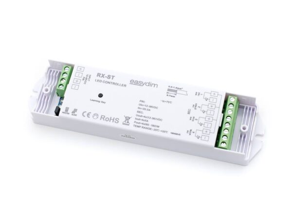 Универсальный приемник-контроллер RX-ST для светодиодных лент RGB, RGB+W, MIX
