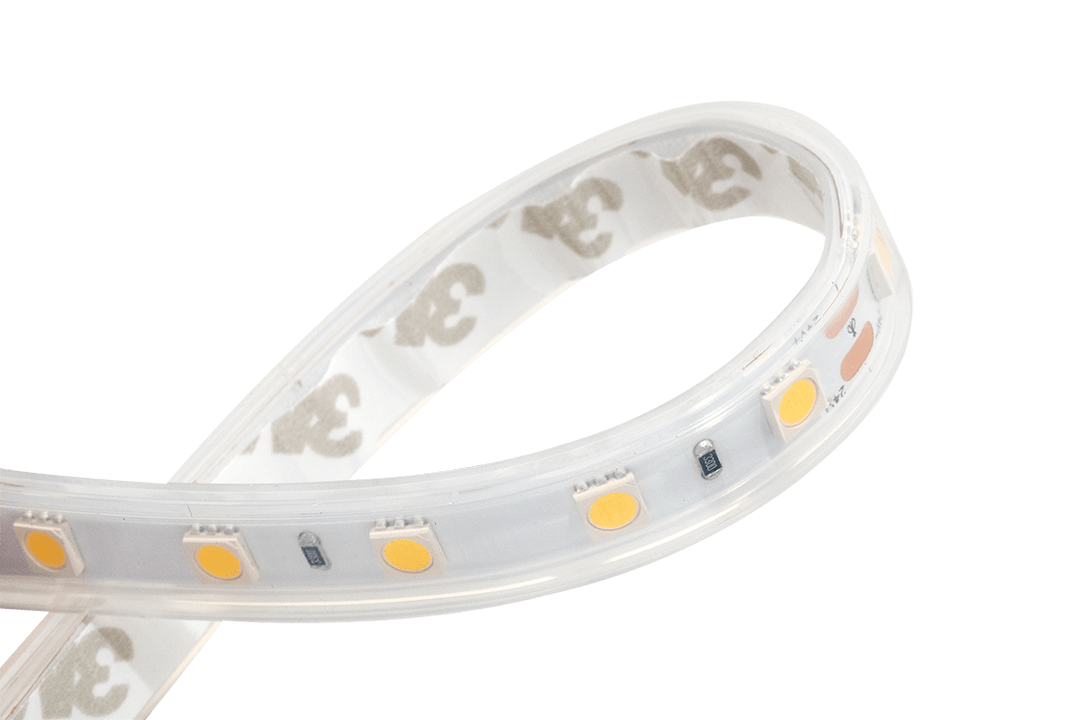 Лента светодиодная LUX, 5050, 60 LED/м, 14,4 Вт/м, 24В, IP65, Нейтральный белый (4000K)