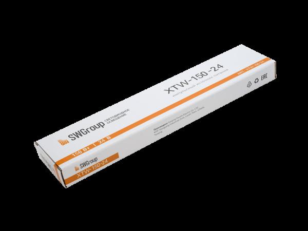 Ультратонкий блок питания в металлическом корпусе, IP67, 150W, 24V
