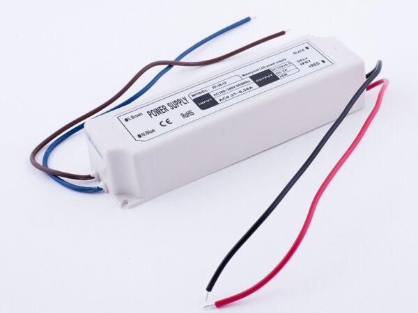 Блок Питания для ленты IP 67 пластик 35 W, 12V