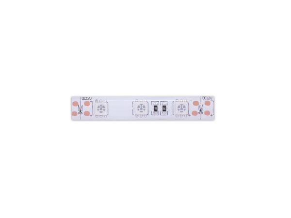 Лента светодиодная однорядная стандарт 5050, 60 LED/м, 14,4 Вт/м, 12В, IP65, Цвет: Красный