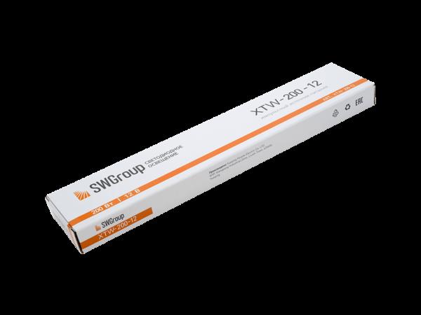 Ультратонкий блок питания в металлическом корпусе, IP67, 200W, 12V