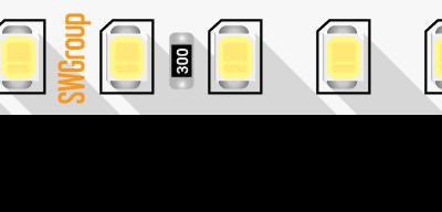 Лента светодиодная ПРО 2835, 128 LED/м, 11,5 Вт/м, 24В , IP20, Цвет: Нейтральный белый