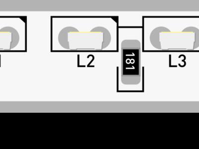 Лента светодиодная стандарт 315, 120 LED/м, 9,6 Вт/м, 12В , IP67, Цвет: Холодный белый