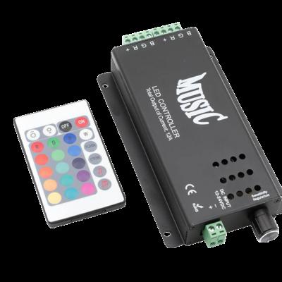 LED RGB аудиоконтроллер Music 12 Вольт 120Вт