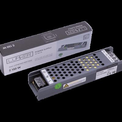 Блок питания для светодиодной ленты LUX компактный, 24В, 150Вт, IP20