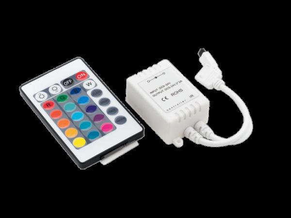 LED RGB контроллер 6А 12/24 Вольт, ИФ 24 кн