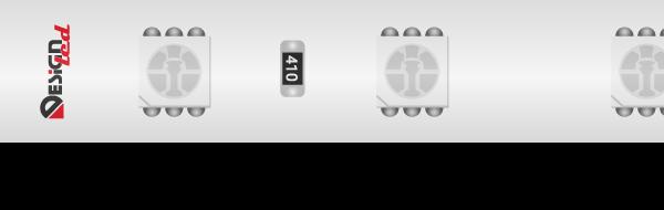Лента светодиодная LUX, 5050, 60 LED/м, 14,4 Вт/м, 24В, IP65, RGB (K)