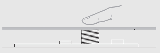 Мини диммер 1-3А, сенсор для профиля