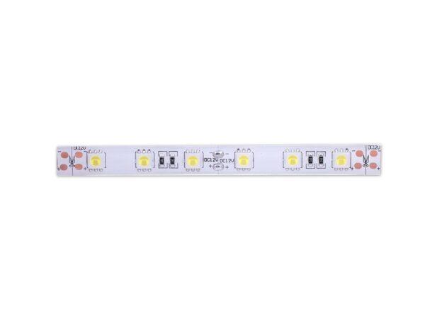 Лента светодиодная стандарт 5050, 60 LED/м, 14,4 Вт/м, 12В, IP65, Цвет: Холодный белый