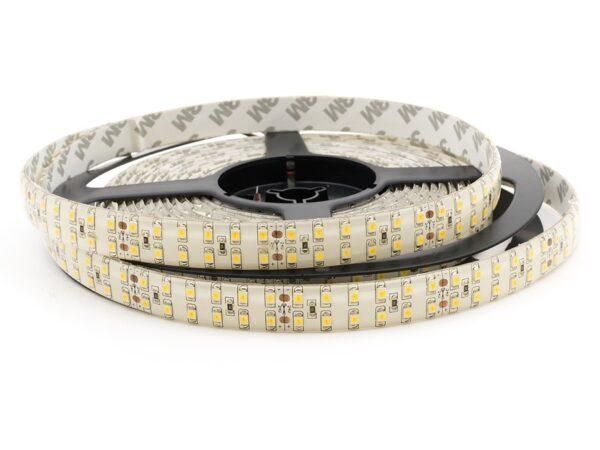 Лента светодиодная стандарт 3528, 240 LED/м, 19,2 Вт/м, 24В , IP65, Цвет: Теплый белый