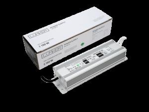 Блок питания для светодиодной ленты LUX влагозащищенный, 12В, 150Вт, IP67