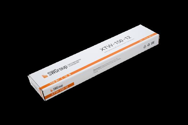 Ультратонкий блок питания в металлическом корпусе, IP67, 150W, 12V