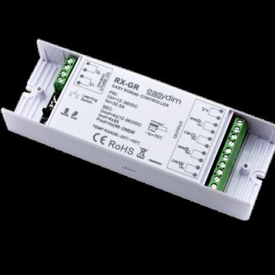 Универсальный приемник-контроллер увеличенной мощности RX-GR для светодиодных лент RGB, RGB+W, MIX