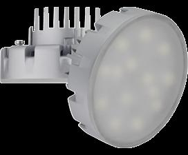 Лампа Ecola GX53   LED Premium 14.5W Tablet 220V 6400K (большой алюм. радиатор) 75×41