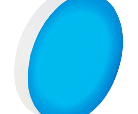 Ecola GX53   LED color Premium 12,0W Tablet 220V Blue Синий матовая 28×74