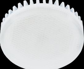 Лампа Ecola GX53 LED Premium 8.5W Tablet 220V 4200K матовое стекло (ребристый алюм. радиатор) 27×75