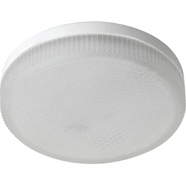 Ecola Light GX53 LED  8,0W Tablet 220V 2800K 27×75 матовое стекло 30000h