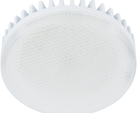 Ecola Light GX53 LED 11,5W Tablet 220V 6400K 27×75 матовый поликарбонат (ребристый алюм. радиатор) 30000h