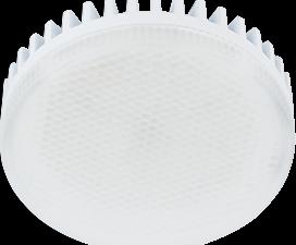 Ecola Light GX53 LED 11,5W Tablet 220V 2800K 27×75 матовый поликарбонат (ребристый алюм. радиатор) 30000h