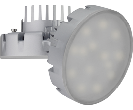Лампа Ecola GX53   LED Premium 14.5W Tablet 220V 4200K (большой алюм. радиатор) 75×41