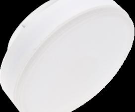 Ecola Light GX53 LED 11,5W Tablet 220V 6400K 27×75 матовое стекло (композит) 30000h