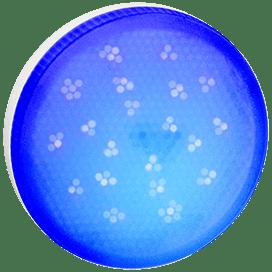 Ecola GX53 LED color 8,0W Tablet 220V Blue Синий матовое стекло (композит) 28×74