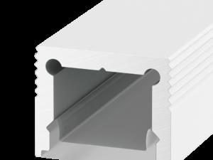 Профиль алюминиевый DesignLed LS.1613-W, белый