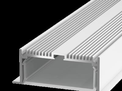 Встраиваемый алюминиевый профиль LE.8832, белый