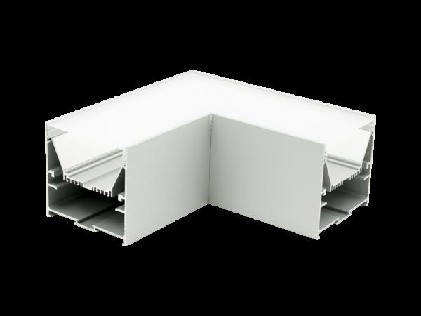 Угловой L-образный коннектор L9086-L90 для профиля L9086