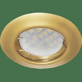 Ecola Light MR16 DL92 GU5.3 Светильник встр. выпуклый Перламутровое золото 30×80