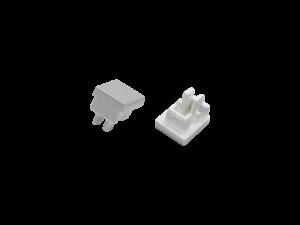 Заглушки для профиля LS0709, 2 шт в комплекте