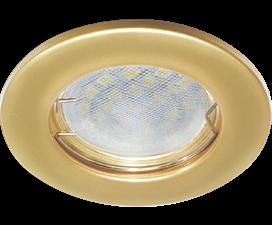 Ecola Light MR16 DL90 GU5.3 Светильник встр. плоский Перламутровое золото 30×80