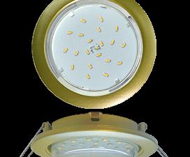 Ecola GX53 5355 Встраиваемый Легкий Золото (светильник) 25×106