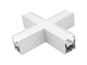 Угловой X-образный коннектор L5570-X90 для профиля L5570