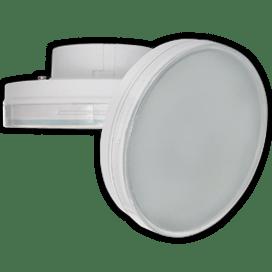 Ecola GX70   LED 10.0W Tablet 220V 2800K матовое стекло 111*42