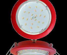 Ecola GX53 5355 Встраиваемый Легкий Красный (светильник) 25×106
