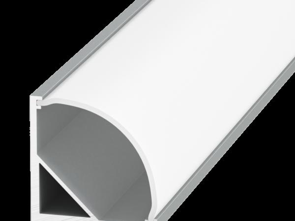 Профиль алюминиевый накладной угловой SWG SF-1616