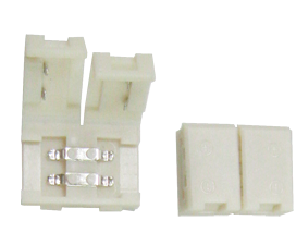 Ecola LED strip connector разъем зажимной 2-х конт.  8 mm 1 шт.
